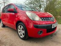 2007 Nissan Note 1.6 SVE 5dr MPV Petrol Manual