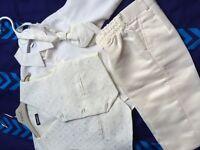 Boys wedding/christening suit 9-12 months