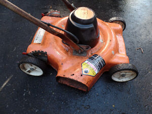 Electric Lawnmower Works Fine