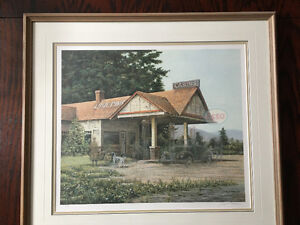 James Lumbers Lone Pine - signed Limited Edition- Framed