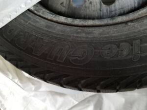 Snow tires and rims 205/65/R16