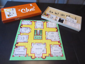 CLUE - vintage original 1956 edition (and many other editions)