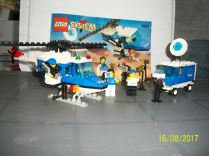1997 LEGO SET - CRISIS NEWS CREW
