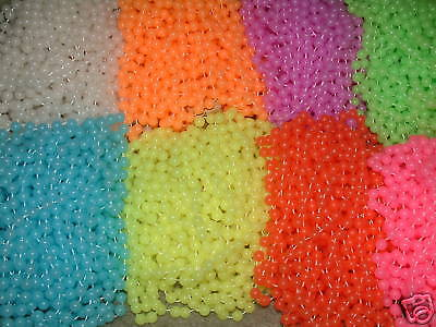 5 DOZEN (60) GLOW IN DARK MARDI GRAS BEADS NECKLACES (Glow In Dark Necklaces Wholesale)