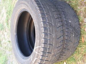 2 Yokohama winter tires 225/65/17
