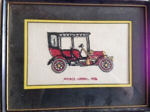 Vintage Cars Cross Stitch Pictures Kingston Kingston Area image 3