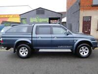 Mitsubishi L200 Warrior 4x4 2005 with load liner and rear canopy (42)