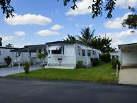 maison mobile avec terrain à vendre Floride