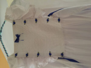 Dress suitable for a flower girl suitable for 7-10 year old