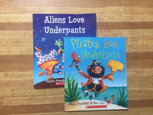 2 Love Underpants Storybooks