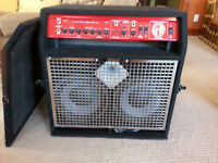 SWR Super Red Head bass amp and Yamaha Custom Maple Drums!!