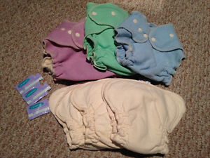 Lovey Bums Brand New AIO wool/cloth