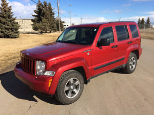 2008 Jeep Liberty SUV, Crossover 4x4