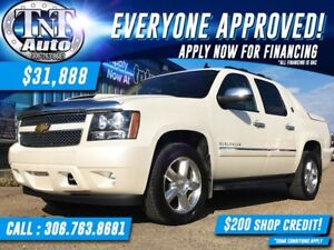 2013 CHEVY AVALANCHE! LEATHER-NAV-REAR CAM-SUNROOF-4X4 APPLY NOW