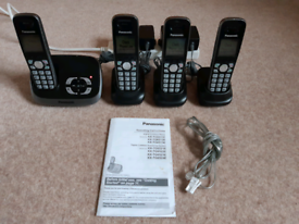 Panasonic Digital Cordless Phones and Answering System