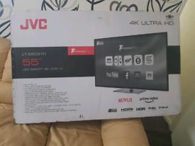TV BRAND NEW 55INCH JVC SMART WI-FI 4K ULTRA HD HDR SUPER SMART