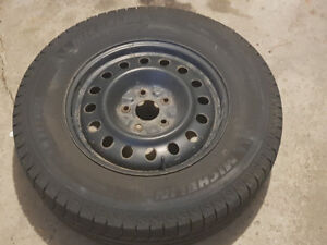 Winter tires & rims - Jeep Grand Cherokee (excellent condition)
