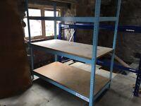 Industrial racking x 4