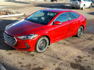 2018 Hyundai Elantra GL Sedan with extended warranty.