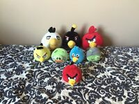 Angry Bird stuffy collection 8 in total