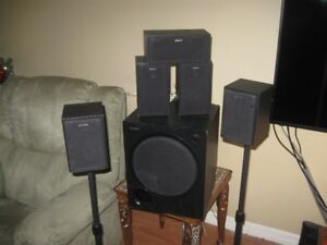 SONY SURROUND SOUND SPEAKER SET