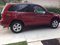 2004 Toyota RAV4 Chili Edition SUV - Low kms & well-maintained