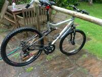 Apollo FS26 SE.. MTB double discs, suspension, VGc bike, not carrera specialized, giant....