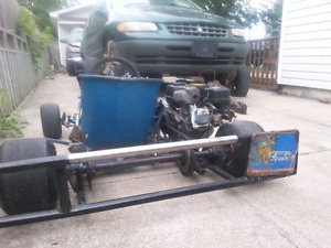 racing go kart with 6.5hp wanting to trade for dirtbike