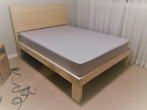 100% real wood brand new bed