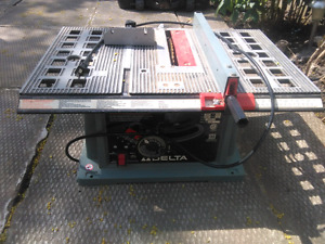 "10"" Delta portable table saw"