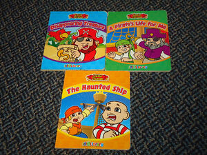 Set of 3 Little Pirates Board Back Books Kingston Kingston Area image 1