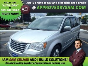 TOWN AND COUNTRY - APPLY WHEN READY TO BUY @ APPROVEDBYSAM.COM