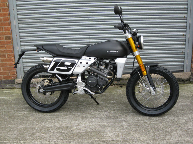 Fantic CABALLERO 250 Flat Tracker/ Scrambler Avail February Pre Order now