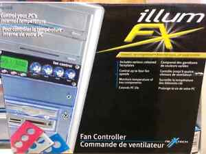 Fan control panel