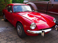 Triumph GT6+ 1969 impeccable