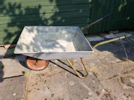 Garden wheelbarrow reasonable condition