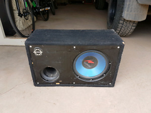 "12"" Kenwood Subwoofer and Amp"
