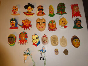 German fashing mask souvenirs  These are replicate Guild masks