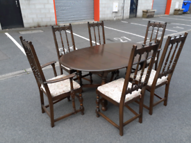 ERCOL Extendable Dining Table and 6 Chairs 🤩excellent condition 🤩
