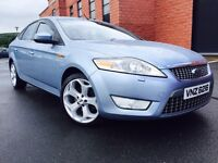 DECEMBER 2007 MONDEO TITANIUM X 1.6 TDCI NEW MODEL FULL SERVICE HISTORY TWO OWNERS FULLY LOADED