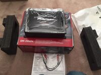 Pioneer GM-D8604 Car Amplifier Amp 4 Channel Subwoofer
