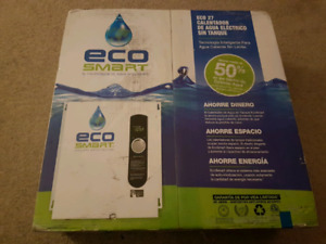 New in Box - Tankless Water Heater ECO SMART 27
