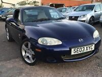 Mazda MX-5 1.8 Nevada + FULL SERVICE HISTORY + 12 MONTH MOT + SUPERB FUTURE CLASSIC
