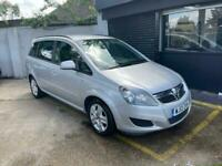 2012 Vauxhall Zafira 1.6i [115] Exclusiv 5dr MPV Petrol Manual