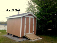 decks, sheds, trim, flooring, any carpentry work