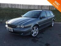 2006 JAGUAR X-TYPE SPORT 2.2D 155PS ESTATE - EXCELLENT SPEC - STUNNING - 3 MONTHS WARRANTY