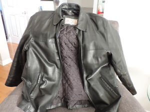 LEATHER JACKET (Lined)
