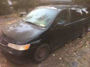 Honda odyssey 1999, for parts OR for steady camper