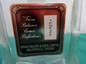 Canadian Club Classic Decanter with stopper (empty) Cornwall Ontario image 3