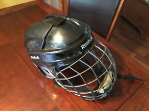 Large senior Reebok 11k Hockey Helmet